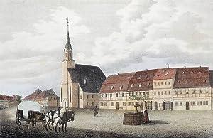 "Lunzenau. - St. Jacobus & Markt. - ""Lunzenau""."