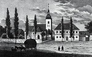 "Lobstädt (Neukieritzsch). - Pfarrkirche. - Sachsens Kirchen-Galerie. - ""Lobstädt II...."