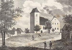 """Priesteblich (Makranstädt). - Pfarrkirche. - Sachsens Kirchen-Galerie. - """"Priestä..."""