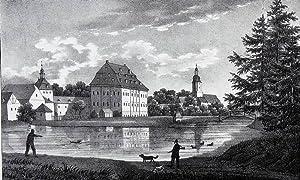 """Steinbach (Bad Lausick). - Gesamtansicht. - Sachsens Kirchen-Galerie. - """"Steinbach""""."""