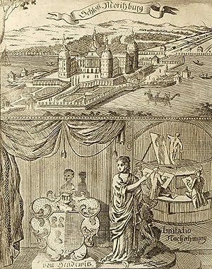 """Moritzburg. - Eckardtisches Tagebuch. - Zittauisches Tagebuch. - """"Schloss Moritzburg""""."""