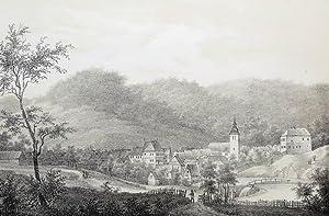 "Güntersberge (Harzgerode). - Gesamtansicht. - ""Günthersberge"".: Franz Hoffmann"