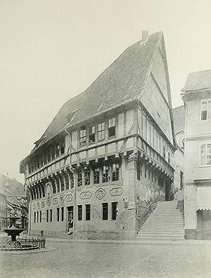 "Stolberg (Harz). - ""Stolberg. Rathaus. 1482, erneuert 1600""."