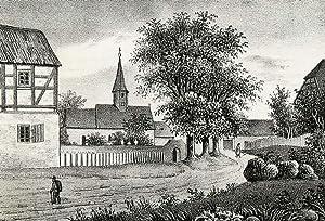 """Leppersdorf (Wachau). - Teilansicht mit Pfarrkirche. - Sachsens Kirchen-Galerie. - """"..."""