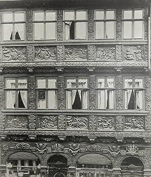 """Wernigerode. - """"Wernigerode. Gerlitzsches Haus in der Breitenstrasse 1674""""."""