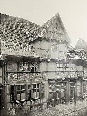 """Quedlinburg. - """"Quedlinburg. Hohestrasse 1548""""."""