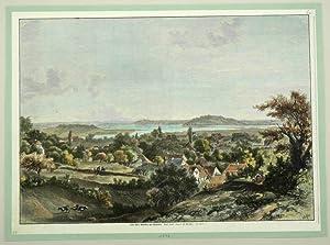 """Malente. - Gesamtansicht. - """"Das Dorf Malente am Kellersee""""."""