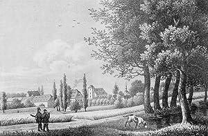 """Skassa (Großenhain). - Gesamtansicht. - Sachsens Kirchen-Galerie. - """"Skassa""""."""