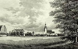 "Zabeltitz (Großenhain). - Gesamtansicht. - Sachsens Kirchen-Galerie. - ""Zabeltitz""."