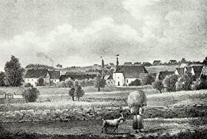 "Zschaiten (Nünchritz). - Gesamtansicht. - Sachsens Kirchen-Galerie. - ""Zschaiten""."
