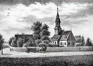 """Altchemnitz (Chemnitz). - Teilansicht mit Pfarrkirche. - Sachsens Kirchen-Galerie. - """"..."""