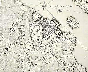 """Stralsund. - Befestigungsplan. - """"Plan de la Ville de Stralsund, en Pommeranie""""."""