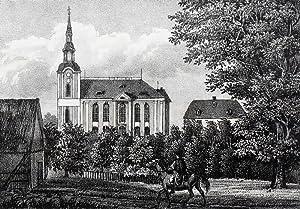 """Bad Einsiedel (Seiffen). - Gesamtansicht. - Sachsens Kirchen-Galerie. - """"Einsiedel""""."""