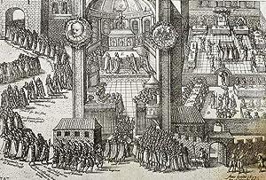 Stuttgart. - Festakt zur Verleihung des englischen Garter Orden an Herzog Friedrich von Wü...