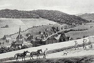 "Schmiedeberg (Dippoldiswalde). - Gesamtansicht. - Sachsens Kirchen-Galerie. - ""Schmiedeberg&..."