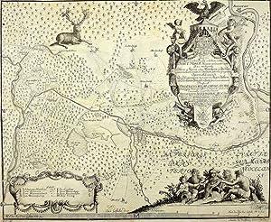 "Oder-Spree-Kanal. - Landkarte. - ""Odera et Sprea""."