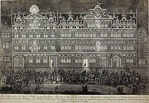 """Frankfurt am Main. - Stadthausansicht. - """"Haus Baron von Wachtendonk""""."""