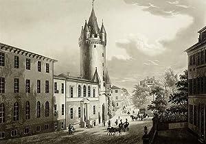 """Frankfurt am Main. - Altstadtansicht. - """"Der Eschenheimer Thurm""""."""
