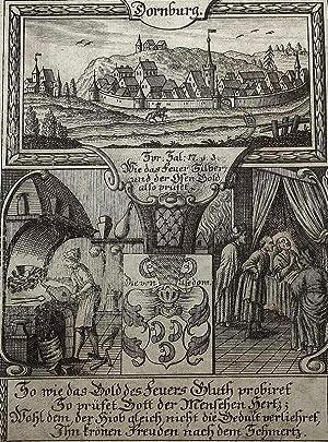 """Dornburg. - Eckardtisches Tagebuch. - Zittauisches Tagebuch. - """"Dornburg""""."""