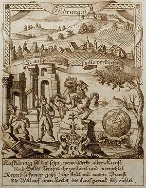 """Heldrungen. - Eckardtisches Tagebuch. - Zittauisches Tagebuch. - """"Heldrungen""""."""