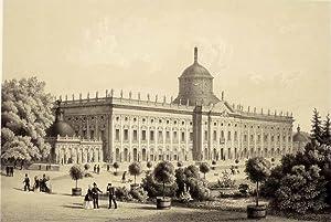 "Potsdam. - Schlossansicht. - ""Das neue Palais bei Potsdam""."