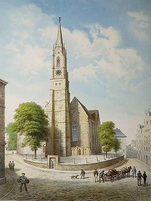 """Bremen. - Kirchenansicht. - """"St. Stephani Kirche""""."""