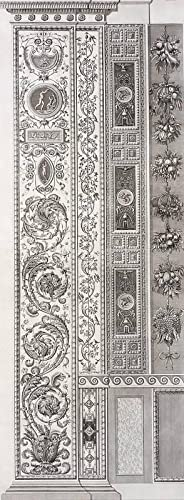 "Ornamentika . - Pilaster - Teil 2, Blatt 5. - ""Loggie di Rafaele nel Vatikano""."