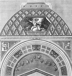 """Ornamentika . - Supraporten - Teil 3, Blatt 1. - Gott scheidet Licht von Finsternis. - """"Loggie..."""