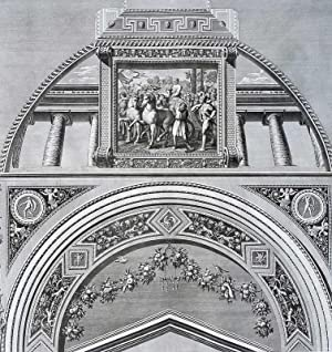 "Ornamentika . - Supraporten - Teil 3, Blatt 11. - König Davids Einzug in Jerusalem. - ""..."
