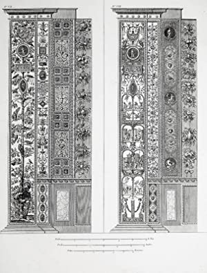 "Ornamentika . - Pilaster VII/VIII. - ""Loggie"