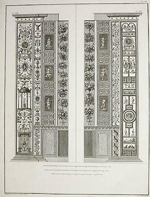"""Ornamentika . - Pilaster XIII/XIV. - """"Loggie"""