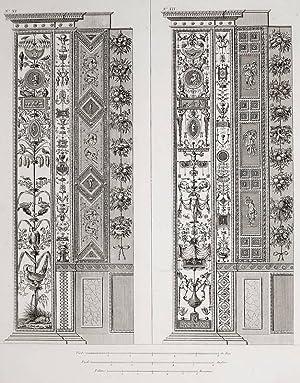 """Ornamentika . - Pilaster XI/XII. - """"Loggie"""