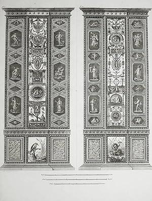 "Ornamentika . - Pilaster V/VI. - ""Loggie"