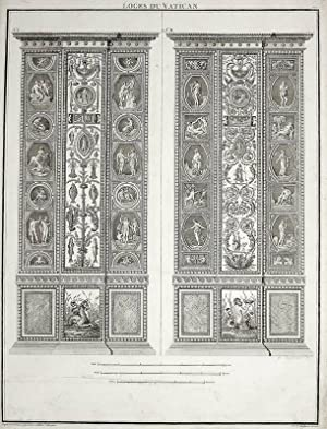 """Ornamentika . - Pilaster I/II. - """"Loggie"""