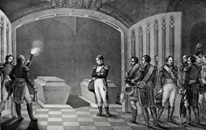"Charles Motte. - Friedrich II. - Napoleon. - ""Visite au Tombeau du Grand Frederic""."
