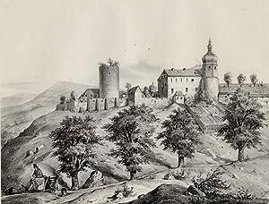 """Wiesenburg (Wildenfels). - Schloss. - Poenicke. - """"Wiesenburg""""."""