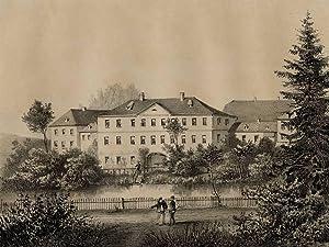 """Untermarxgrün (Oelsnitz / Vogtland). - Rittergut. - Poenicke. - """"Unter=Marxgrün..."""