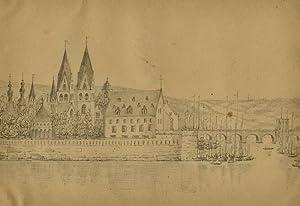 """Koblenz. - """"Coblentz from the Torhof at Ehrenbreitstein""""."""