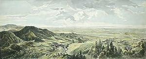 """Schwarzwald. - Panoramaansicht. - """"Rundschau von der Uburg""""."""