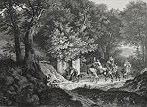 "Richter, Adrian Ludwig. - ""Brunnen bei La Riccia""."