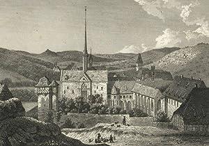 """Maulbronn. - Klosteransicht. - """"Das Kloster Maulbronn""""."""
