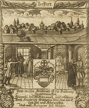 """Treffurt. - Eckardtisches Tagebuch. - Zittauisches Tagebuch. - """"Treffurt""""."""