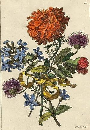 Monnoyer, Jean Baptiste. - Blumen-Bouquet Nr. 10.
