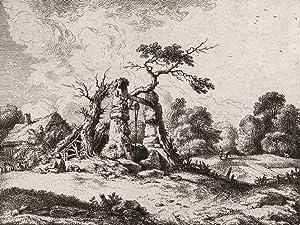 """Kobell, Ferdinand von. - """"Der alte Brunnen""""."""