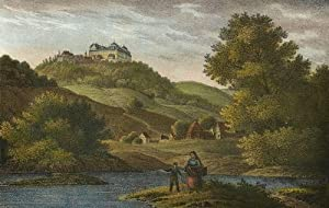 """Augustusburg. - Schlossansicht. - Saxonia. - """"Schloss Augustusburg""""."""