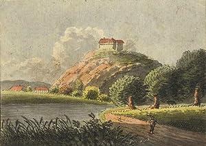 "Frankenberg/Sa. - Schlossansicht. - ""Sachsenburg""."