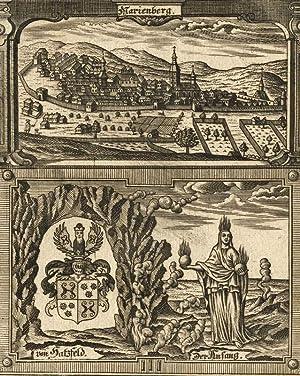 """Marienberg. - Eckardtisches Tagebuch. - Zittauisches Tagebuch. - """"Marienberg"""".: Friedrich..."""