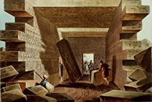 "Libyen. - Tempelansicht II. - ""Interior of the Temple of Jupiter Ammon""."