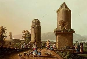 "Syrien. - Tempelansicht II. - ""Monumentss near Tortosa 2""."
