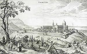 Loreto (Marken). - Kirchenansicht. - Santa Casa.